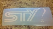 STY? MITSUBISHI VINYL DECAL STICKER