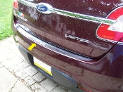 FORD TAURUS REAR BUMPER CHROME VINYL ACCENT PROTECTOR