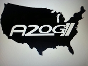 A2OG LOCATION WINDOW VINYL STICKER DECAL CHOOSE COLOR