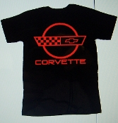 CORVETTE T-SHIRT CHOOSE SIZE & COLORS 84-96