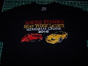 ANDEE STANKO BRIAN PUDGE LaCORTE MEMORIAL T-SHIRT CHOOSE SIZE