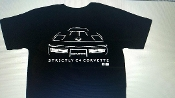STRICTLY C4 CORVETTE T-SHIRT 1984-1990