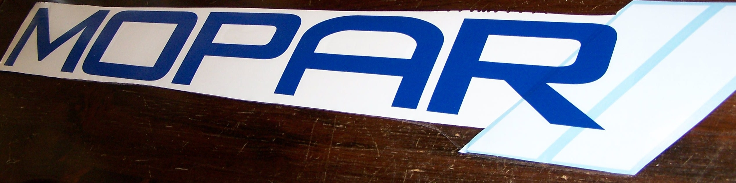 MOPAR WINDSHIELD DECAL STICKER BANNER CHOOSE SIZE AND 2 COLORS