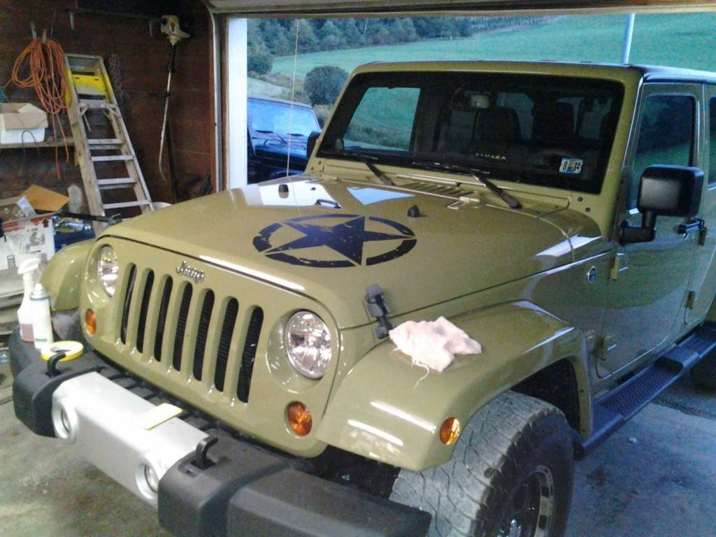 Jeep Oscar Mike Freedom Edition Decal Set Jk