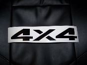 DODGE 4X4 TAILGATE DECAL RAM OR DAKOTA