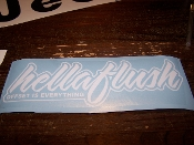 HELLAFLUSH DECAL