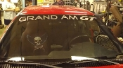 GRAND AM GT WINDSHIELD DECAL BANNER STICKER CHOOSE COLOR & SIZE