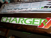 CHARGER WINDSHIELD DECAL BANNER CHOOSE 2 COLORS AND SIZE