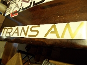 TRANS AM WINDSHIELD / WINDOW VINYL STICKER DECAL BANNER