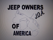 JEEP OWNERS OF AMERICA MEMBERS ZJ VINYL DECAL STICKER