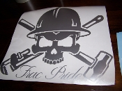 FRAC PROUD VINYL DECAL STICKER CHOOSE SIZE & COLOR