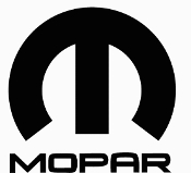 MOPAR LOGO WITH TEXT VINYL STICKER DECAL