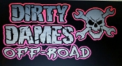 DIRTY DAMES VINYL DECAL CHOOSE 2 COLORS