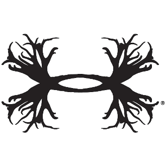 UNDER ARMOUR ANTLER VINYL DECAL STICKER CHOOSE COLOR & SIZE