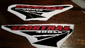 HONDA SPORTRAX 400 EX DECAL SET