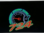 724 FASTEST STREET CARS MEMBERS GROUP DECAL