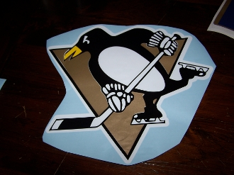 PITTSBURGH PENGUINS VINYL DECAL STICKER CHOOSE SIZE
