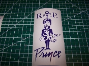 PRINCE THE MUSICIAN VINYL DECAL STICKER