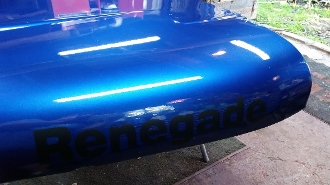 JEEP RENEGADE HOOD DECALS CJ