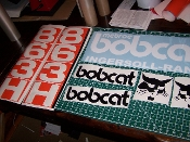 BOBCAT 863H DECAL SET INGERSOLL RAND
