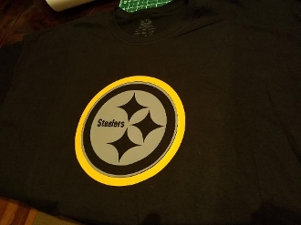 PITTSBURGH STEELERS COLOR RUSH T-SHIRT CHOOSE SIZE