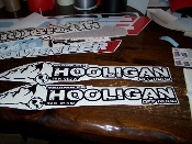 JEEP WRANGLER HOOLIGAN MOUNTAIN OFF ROAD HOOD DECAL SET