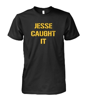 JESSE CAUGHT IT. THE REFS MISSED IT.  EFF NEW ENGLAND. T-SHIRT