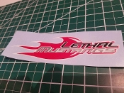 LETHAL MUSTANGS DECAL CHOOSE SIZE & COLOR
