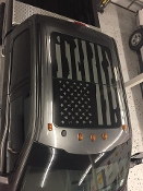 FORD F-150 DISTRESSED AMERICAN FLAG FOR ROOF GLASS PANEL