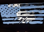 DODGE CHALLENGER R/T 2009-2018 DISTRESSED FLAG SUNROOF DECAL