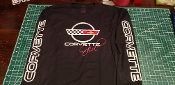 CORVETTE GIRL C4 LONG SLEEVE SHIRT 1984-1996