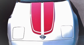 CORVETTE C4 HOOD STRIPES 1984-1996