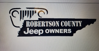 ROBERTSON COUNTY JEEP OWNERS SMALL VINYL DECAL STICKER