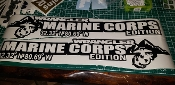 JEEP WRANGLER Hood Marine Corps USMC Decal SET OF 2