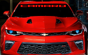 CAMARO WINDSHIELD / WINDOW DECAL STICKER CHOOSE COLOR & SIZE