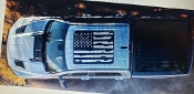 DODGE RAM 2019 2020 DISTRESSED FLAG PANORAMIC SUNROOF DECAL