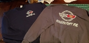 CORVETTE C4 SWEATSHIRT LOGO FRONT AND BACK