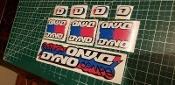 BMX DYNO COMPE DECAL SET 1988
