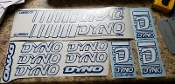 BMX DYNO COMPE DECAL SET 1986 1987 1988