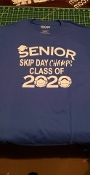 SENIOR SKIP DAY CHAMPS CLASS OF 2020 SHIRT COVID-19 CORONAVIRUS