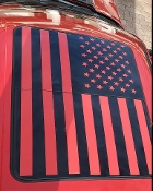 FORD F-150 AMERICAN FLAG ROOF GLASS PANEL F250 F350 SUPER DUTY
