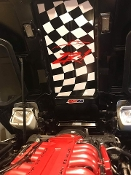 CORVETTE C4 UNDER HOOD DECAL