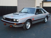 MERCURY CAPRI RS TURBO STRIPE KIT 1979-1986