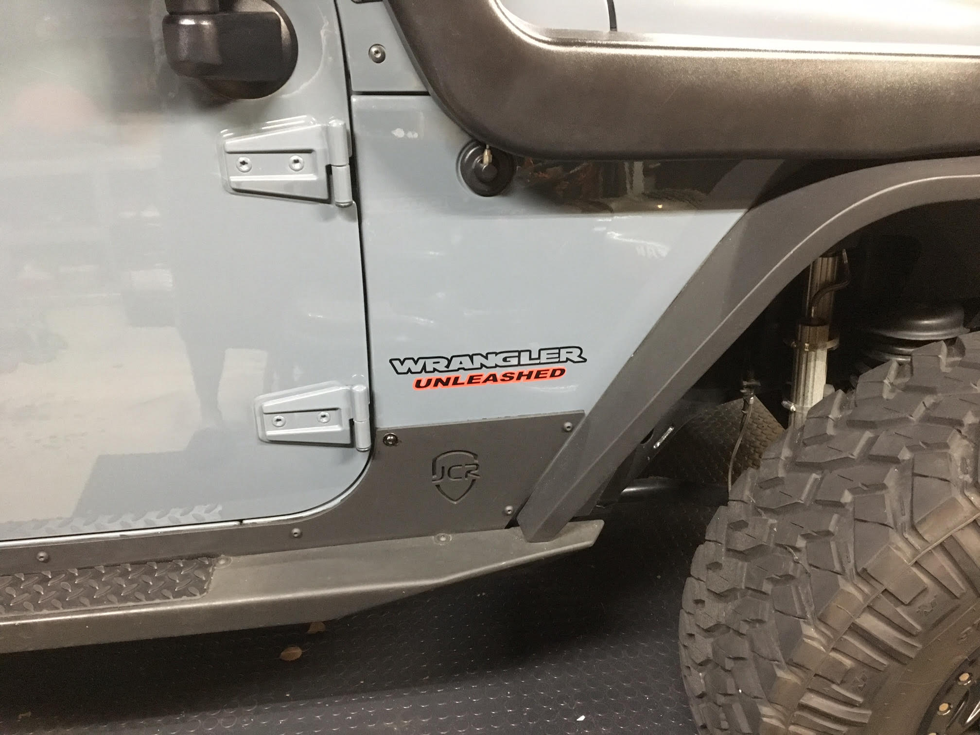 Jeep Wrangler Unleashed Fender Decals Yj Jk Cj Tj Jl Outline