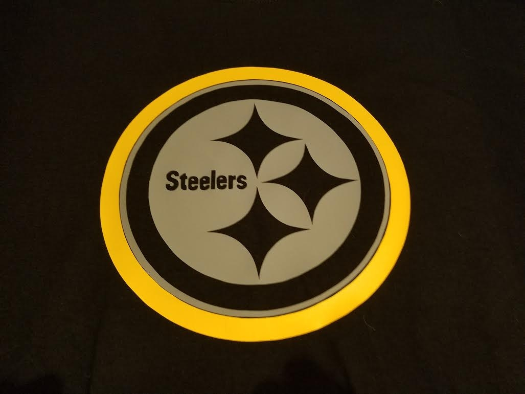 competitive price a1857 fac77 PITTSBURGH STEELERS COLOR RUSH T-SHIRT CHOOSE SIZE